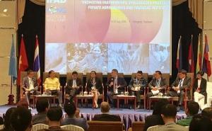 Thứ trưởng Bộ Nông nghiệp và PTNT Trần Thanh Nam tham dự Hội chợ Chia sẻ kiến thức và kinh nghiệm khu vực Mekong (MKLF) năm 2019