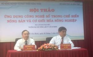 Hội thảo Ứng dụng công nghệ số trong chế biến nông sản và cơ giới hóa nông nghiệp