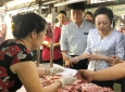 TP.HCM: Kiểm tra mô hình chợ an toàn thực phẩm