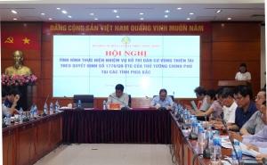 Hội nghị về Thực trạng và giải pháp ổn định dân cư vùng thiên tai các tỉnh phía Bắc đến...