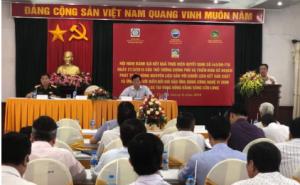 Hội nghị đánh giá kết quả thực hiện Quyết định số 445/QĐ-TTg ngày 21 /3/2016 của Thủ tướng Chính phủ tại Thành phố Cần Thơ