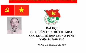 ĐaỊ hội Chi đoàn Cục Kinh tế hợp tác và Phát triển nông thôn nhiệm kỳ 2019-2022