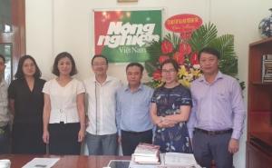 Cục Kinh tế hợp tác và Phát triển nông thôn chúc mừng ngày nhà báo