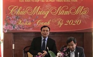 Cục trưởng Lê Đức Thịnh chúc tết Cán bộ, Công chức, Viên chức Cục Kinh tế hợp tác và Phát triển nông thôn