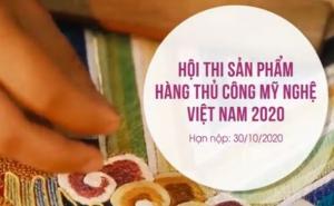 Hội thi hàng thủ công mỹ nghệ Việt Nam 2020