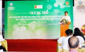 Hội nghị kết nối tiêu thụ nông sản vào chuỗi bán lẻ hiện đại của Big C Việt Nam cho các HTX NN các tỉnh phía Bắc
