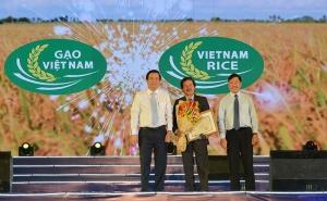 Công bố Logo thương hiệu gạo Việt tại Festival lúa gạo lần III